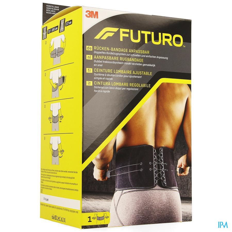 Futuro Rugbandage 46820, Aanpasbaar