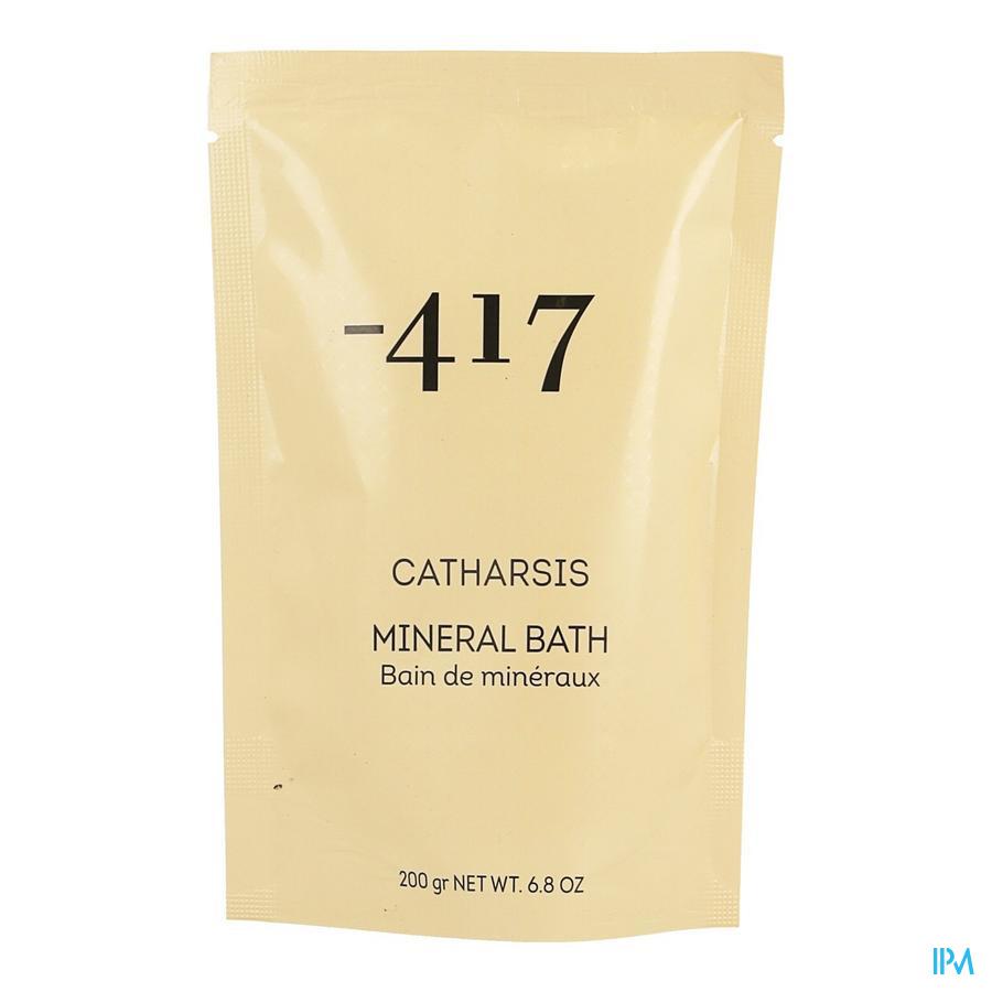 Minus 417 Catharsis Mineral Salt Bath 200g
