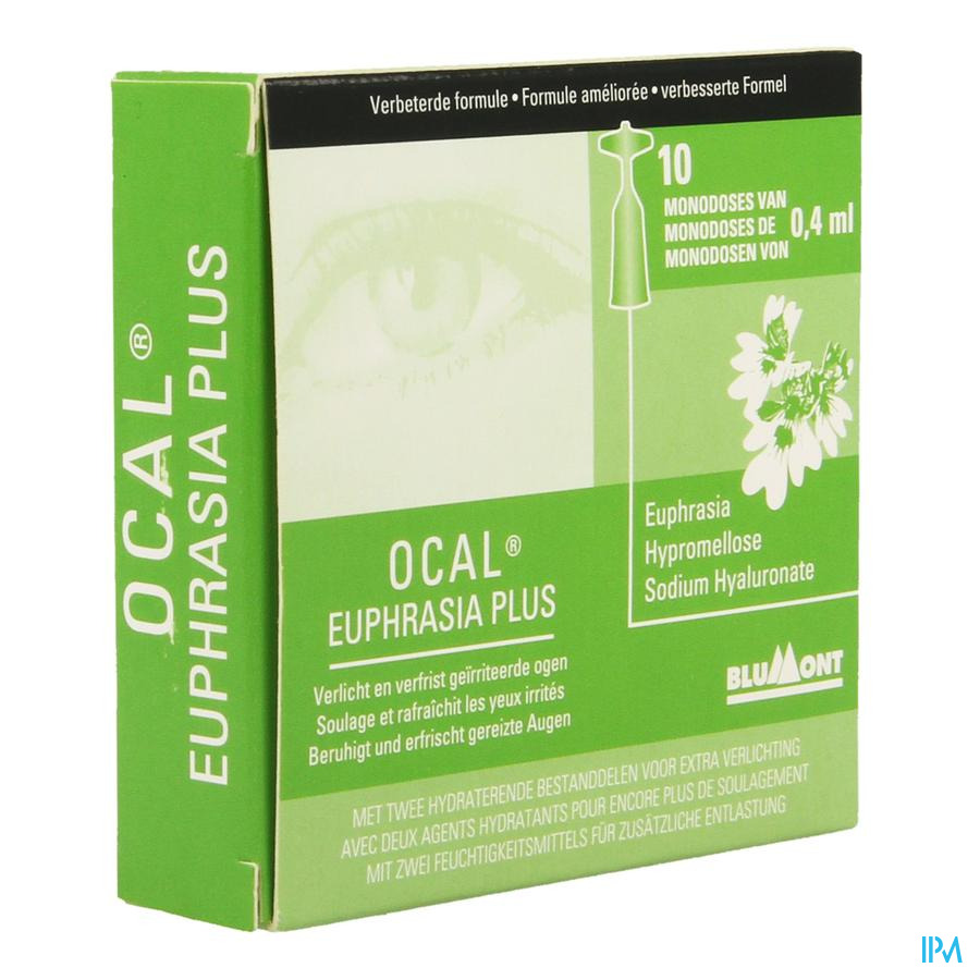 Ocal Euphrasia Plus 10x0,4ml