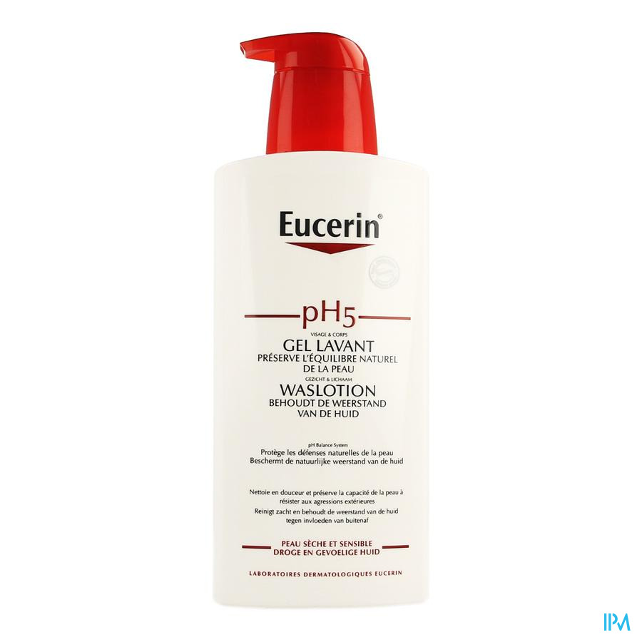 Eucerin Ph5 Waslotion + Pomp 400 ml