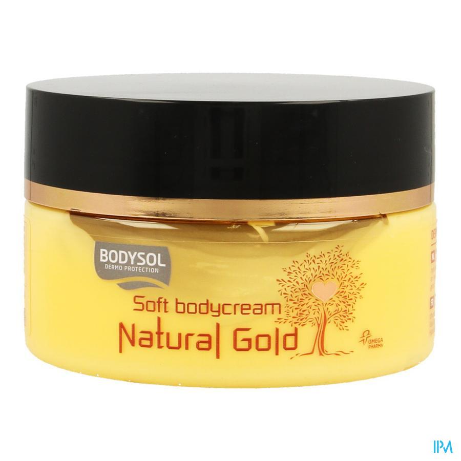 Bodysol Natural Gold Soft Bodycream 200ml