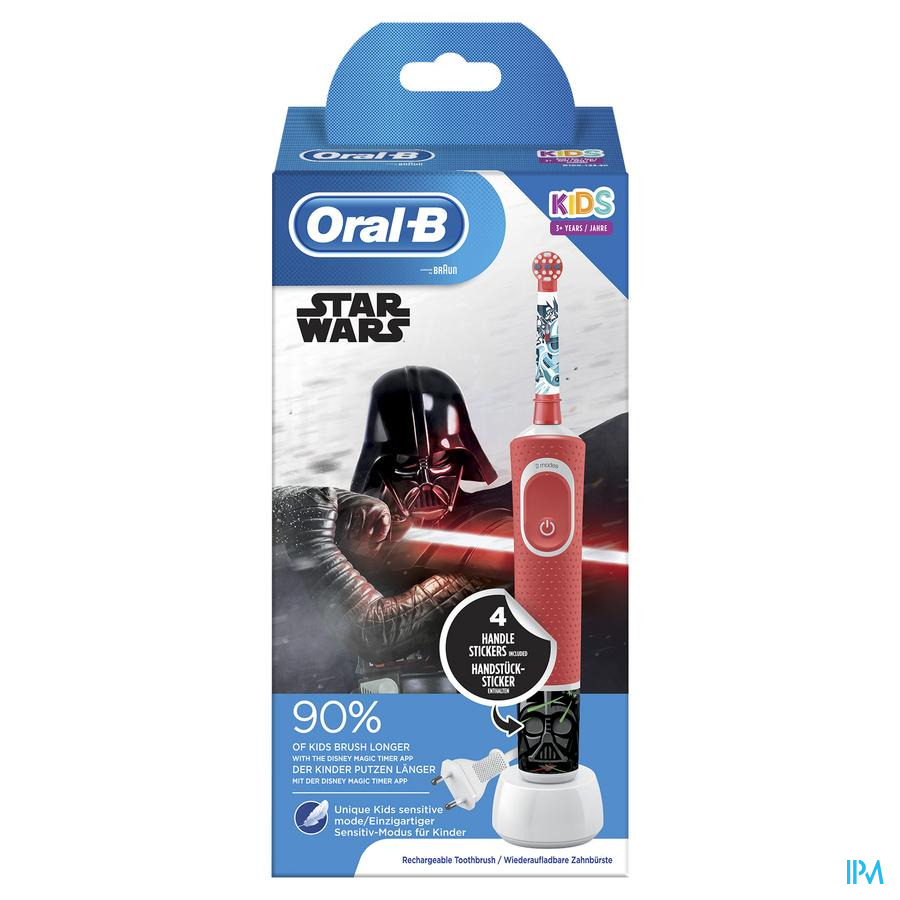 Oral B D100 Kids Star Wars + Eb10