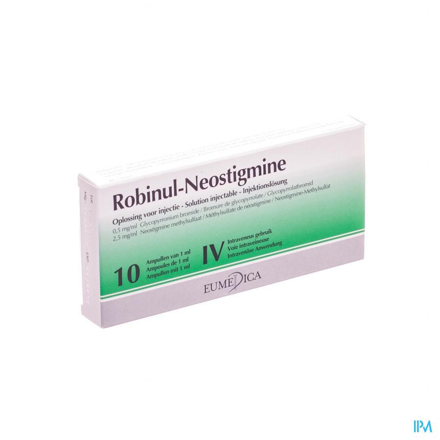 Robinul Neostigmine 10 Amp 1ml