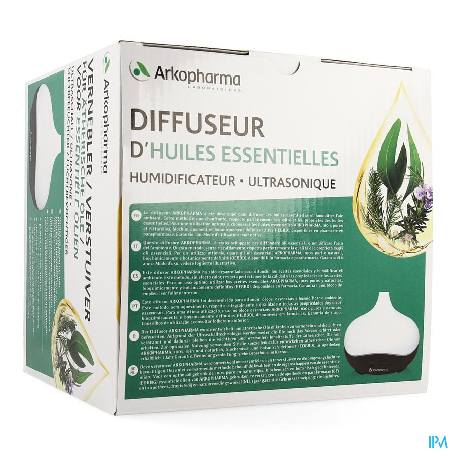 Arko Essentiel Diffuseur Ultrasoniq Humidificateur