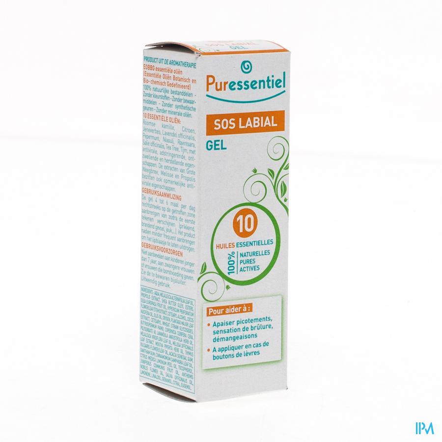 Puressentiel Sos Labial Gel 10 Hle Ess. 5ml