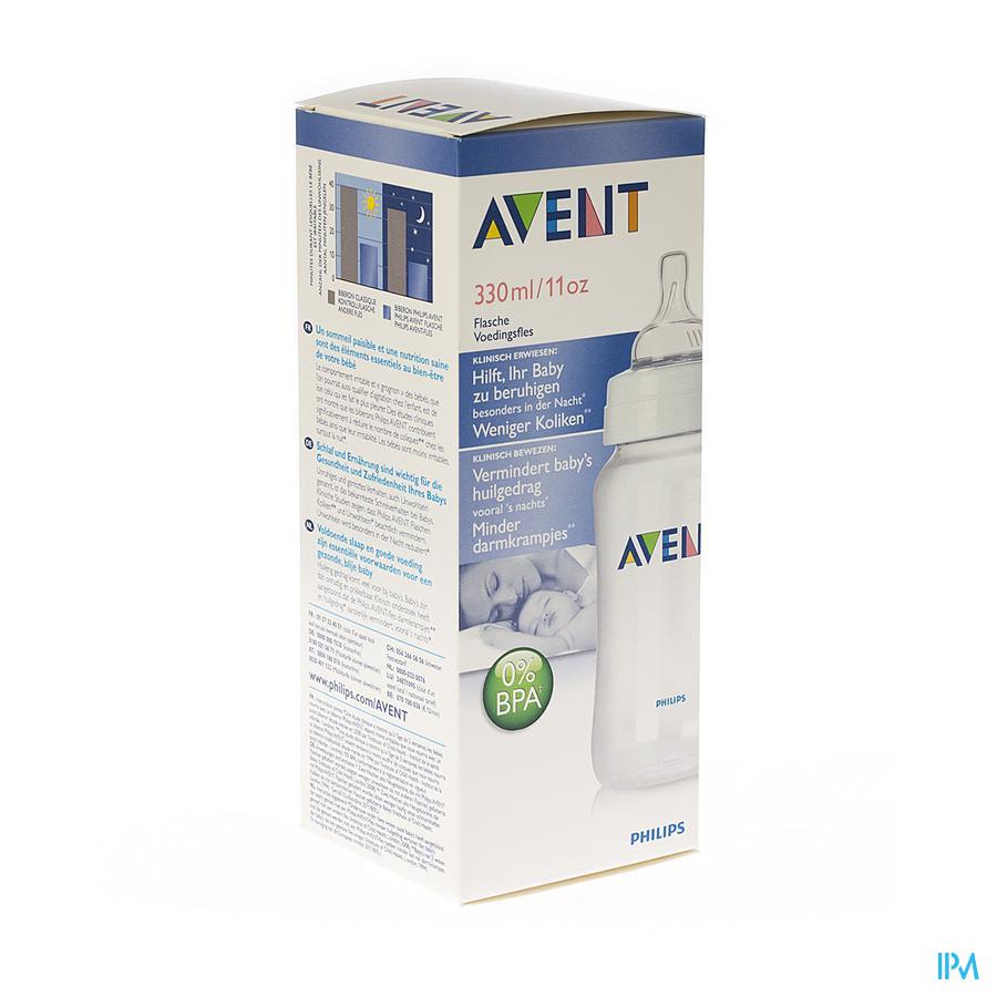 AVENT ZUIGFLES BPA-VRIJ POLYPROPYL.330ML