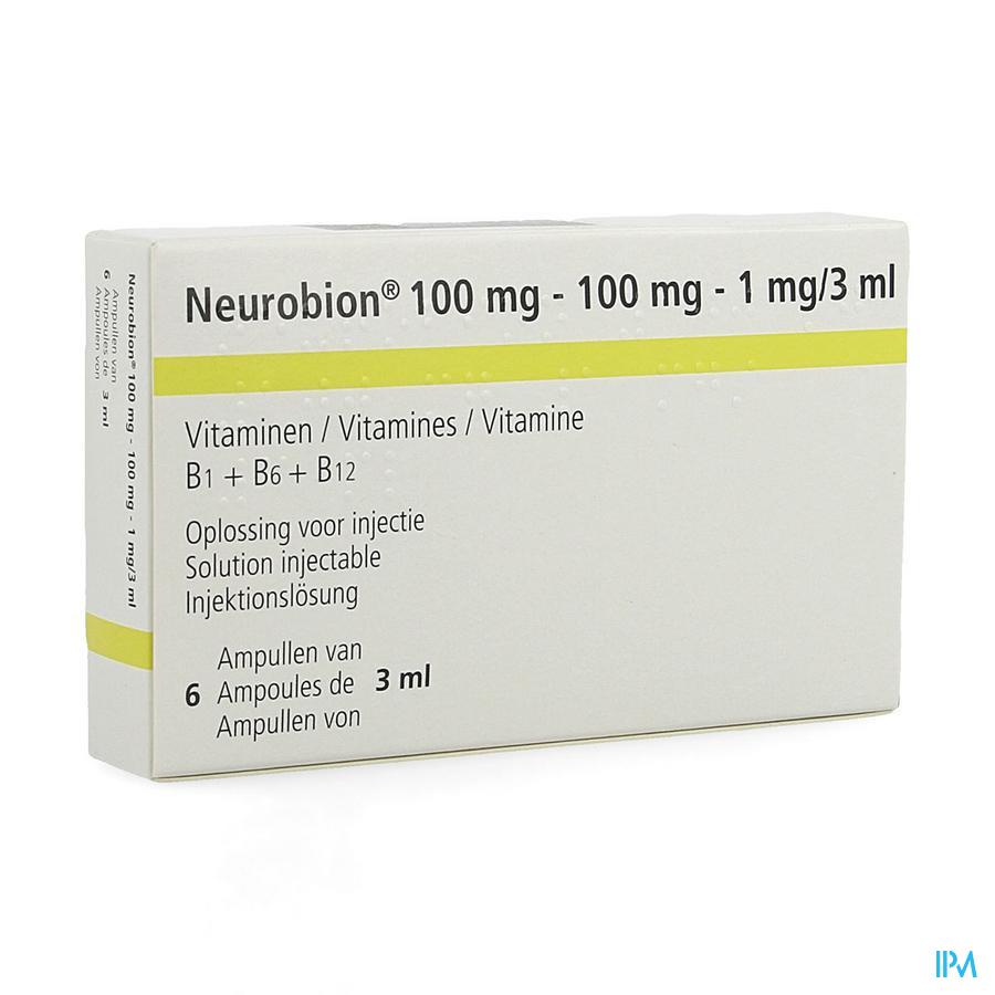 Neurobion Amp 6 X 3ml
