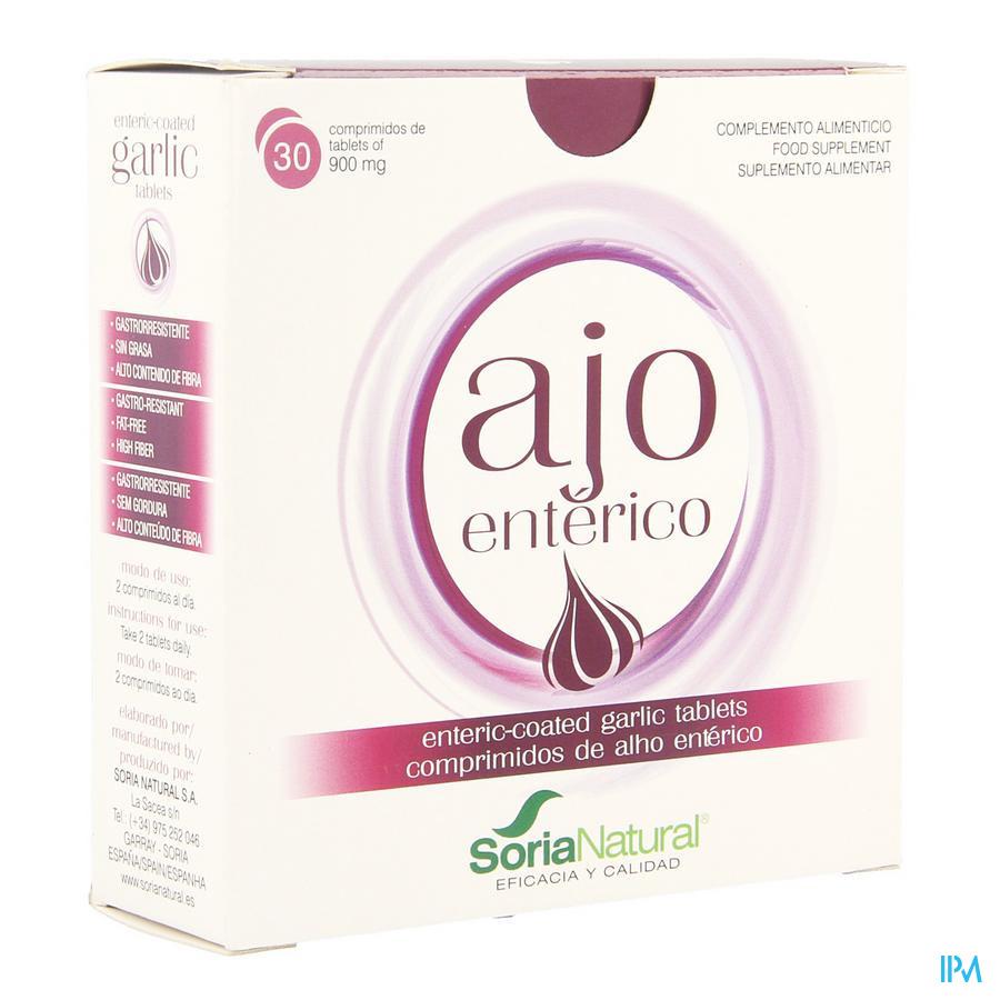 Soria 1-S Ajo enterico (look/ ail) 30 tabl.