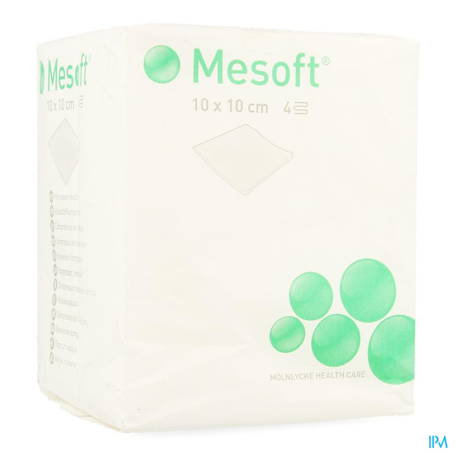 Mesoft S Cp N/st 4c 10,0x10,0cm 100 157300
