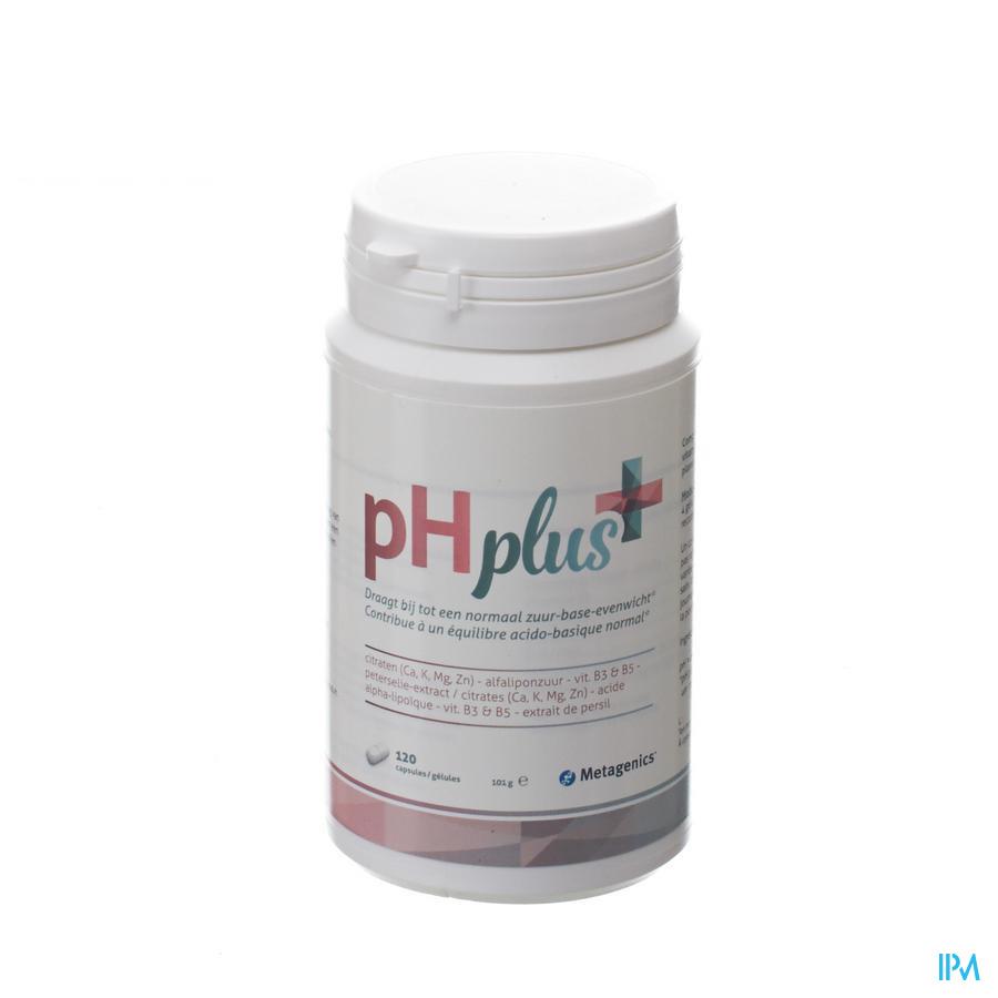 Ph Plus Pot Caps 120 20554 Metagenics
