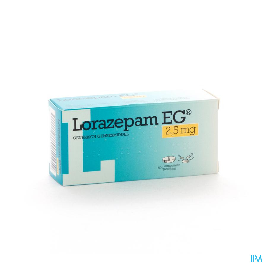 Lorazepam Eg Comp 50x2,5mg