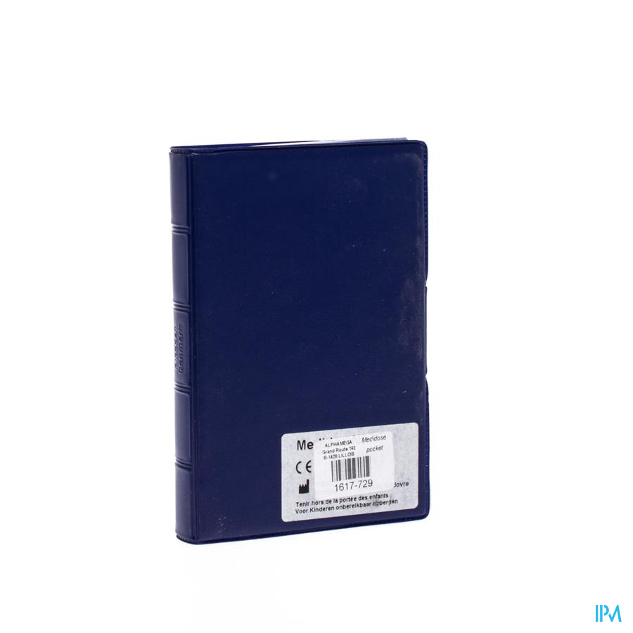 Medidose Pocket Pilul. Bilingue Bleu Pm