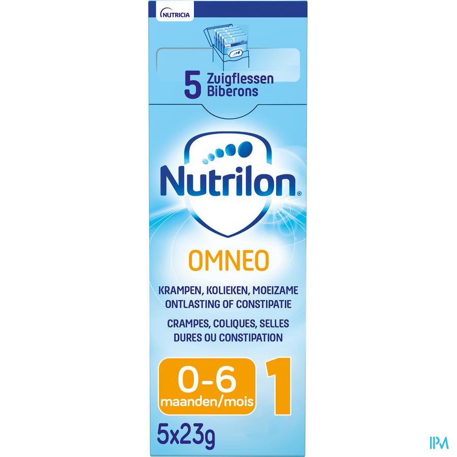 Nutrilon Omneo 1 poudre 5x23g Préparation pour nourrissons