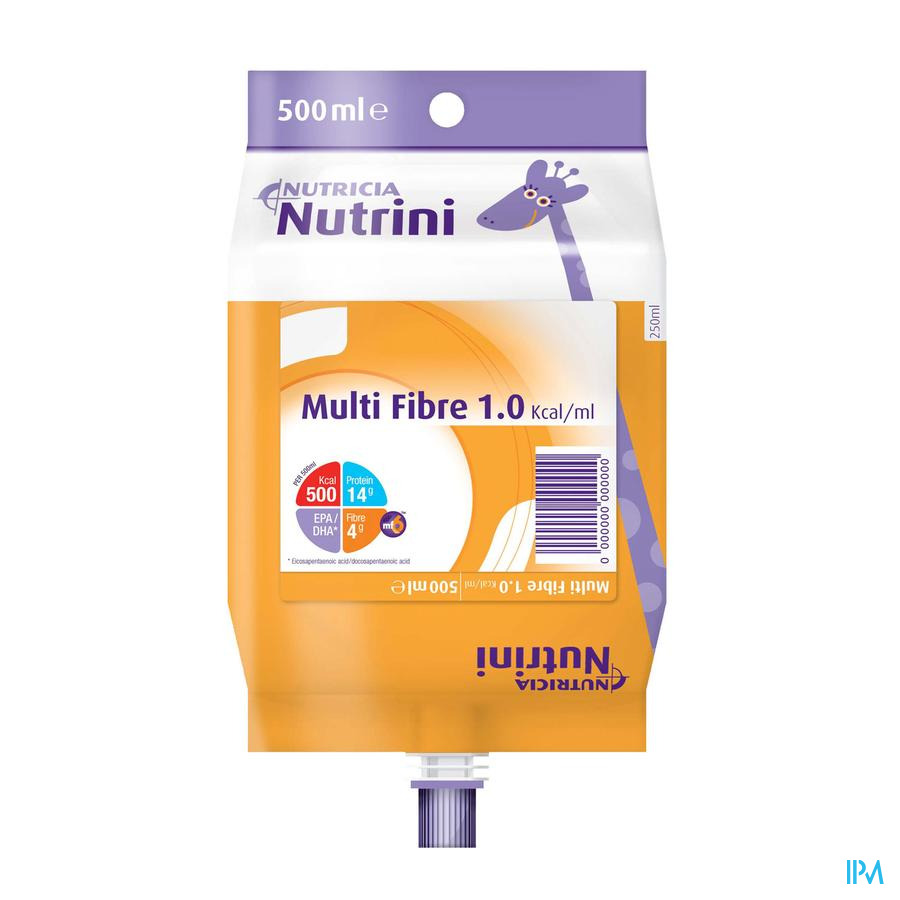 NUTRINI MULTI FIBRE 1-6J          PACK 500ML 65715