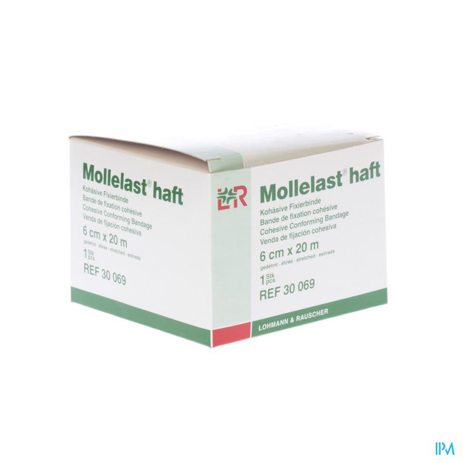 Mollelast Haft Bande Elast Adhesive 6cmx20m 30069