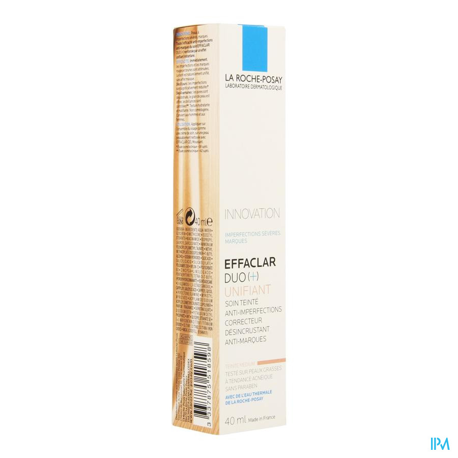La Roche Posay Effaclar Duo+ Unifiant Medium 40ml