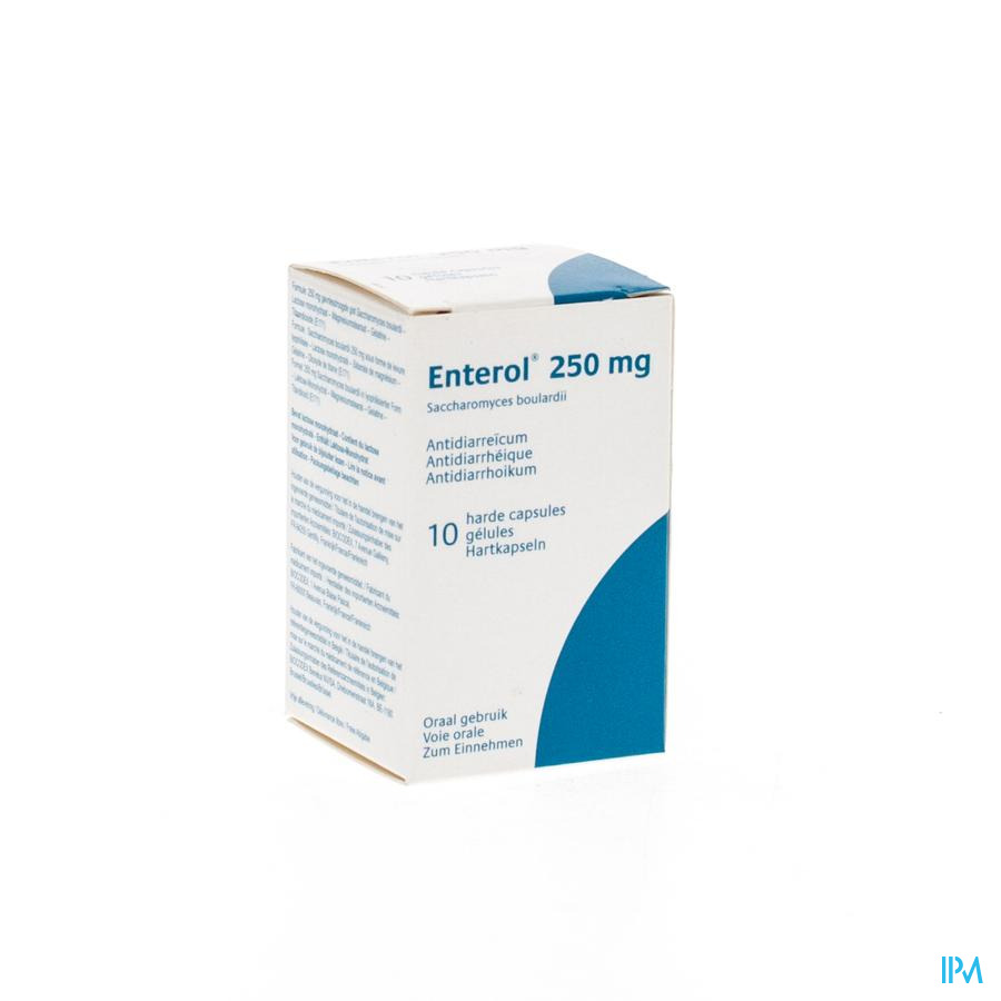 Enterol 250mg Pi Pharma Caps Dur 10 Pip
