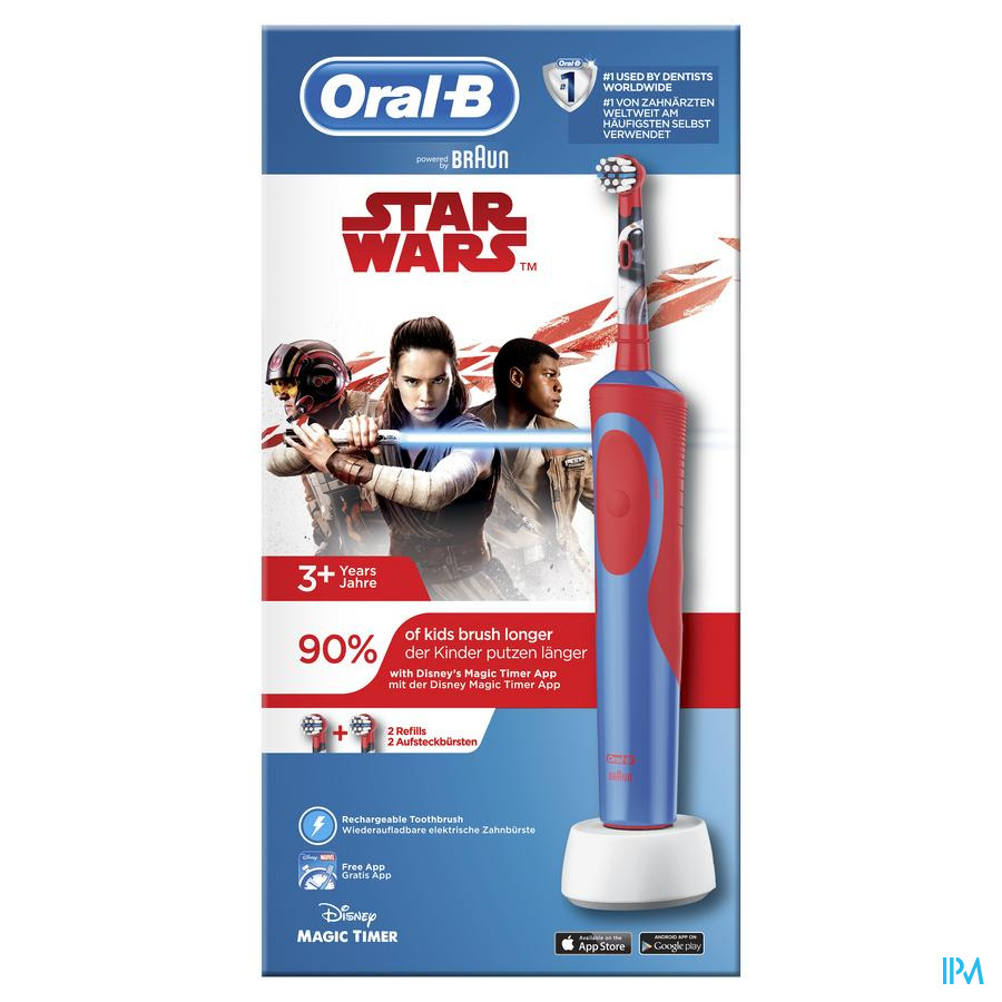 Oral-b Brosse Dents Vitality Kids Star Wars Box