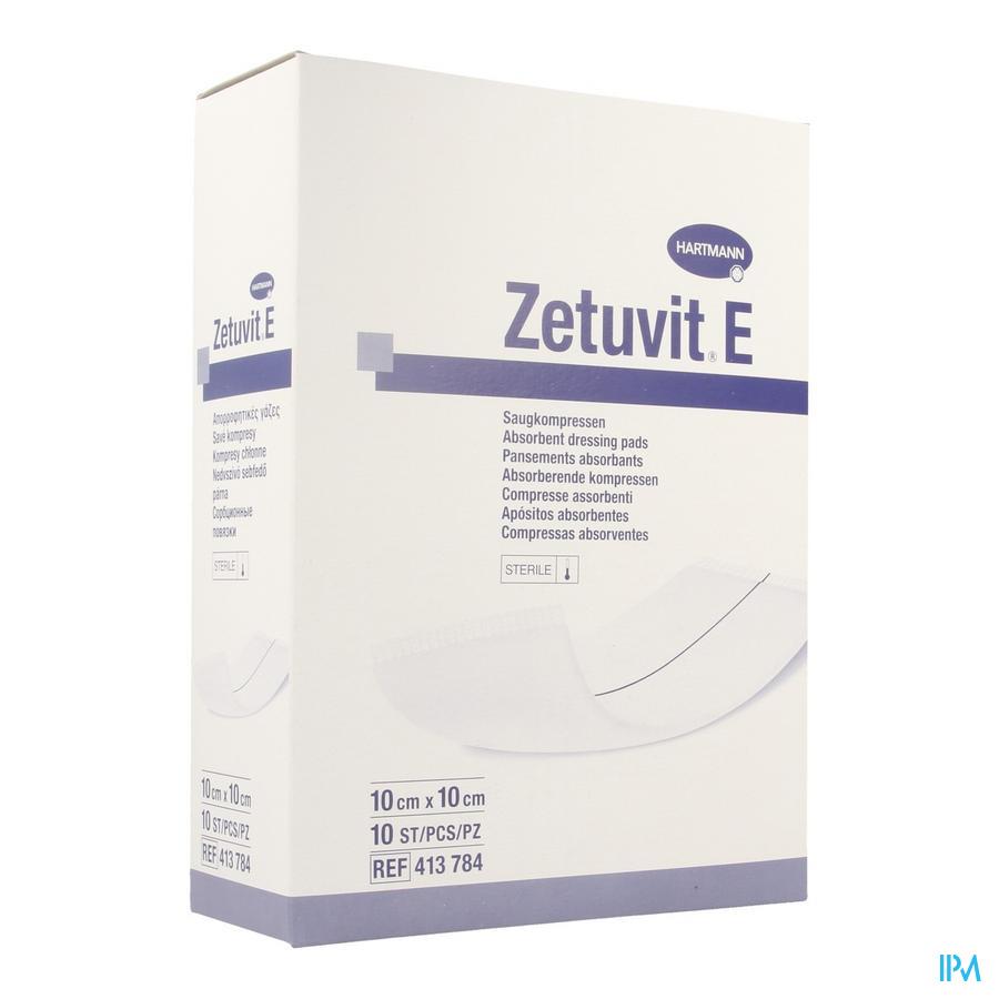 Zetuvit E Hartm Ster 10x10cm 10 4137841