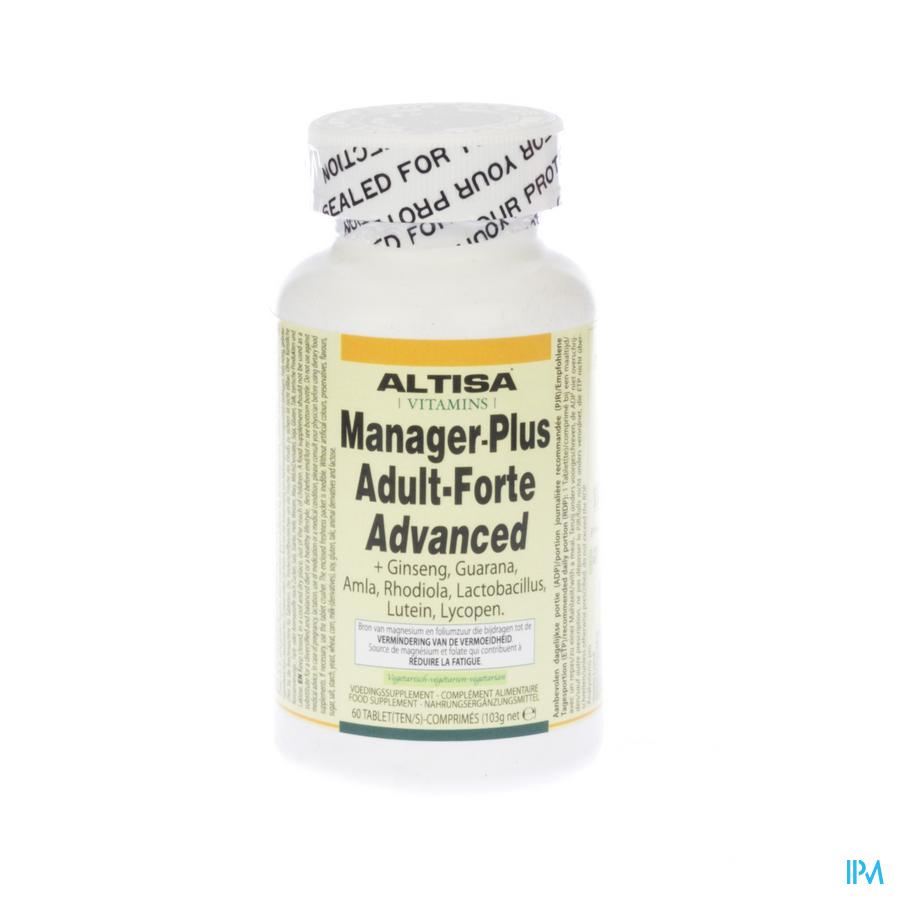Altisa Adult Forte Manager+ Advanced Tabl 60