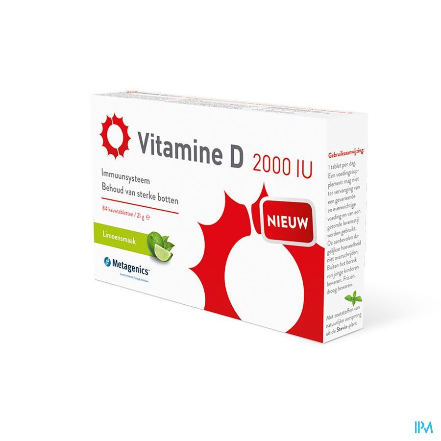 Vitamine D 2000iu Comp 84 Metagenics