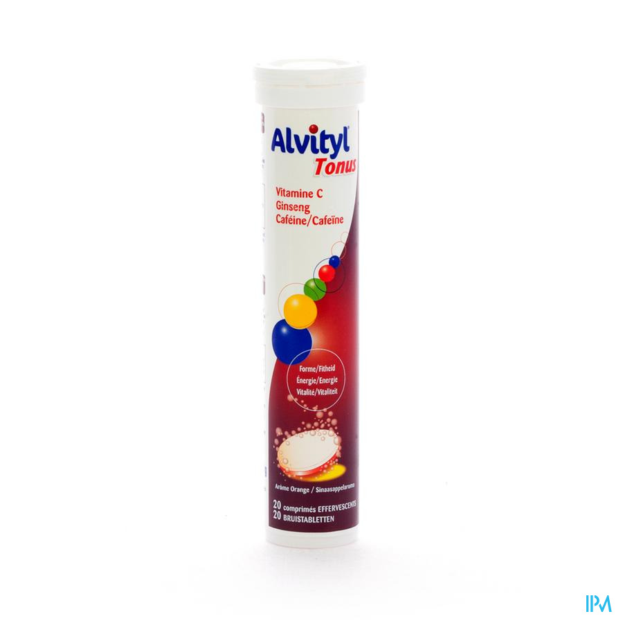 Afbeelding Alvityl tonus 20comp.