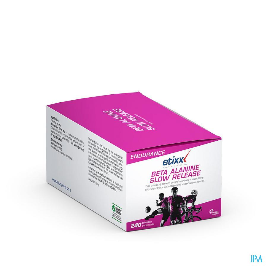 Afbeelding Etixx Beta Alanine Slow Release 240 Tabletten.
