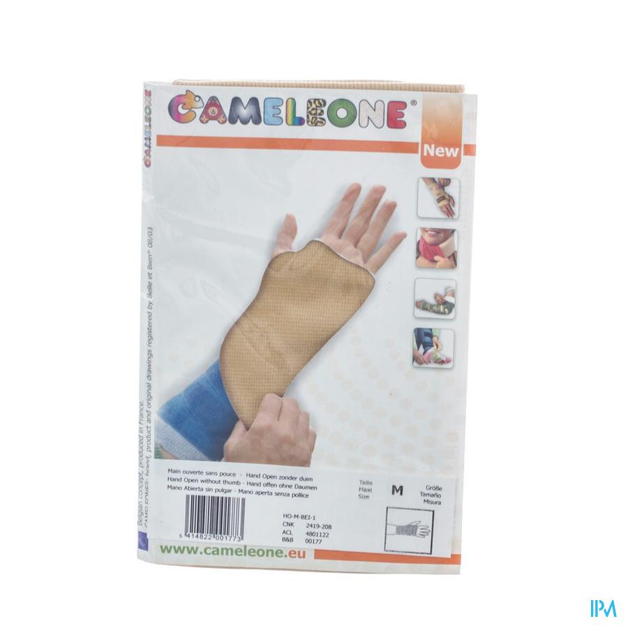 Cameleone Hand Open -duim Beige M 1