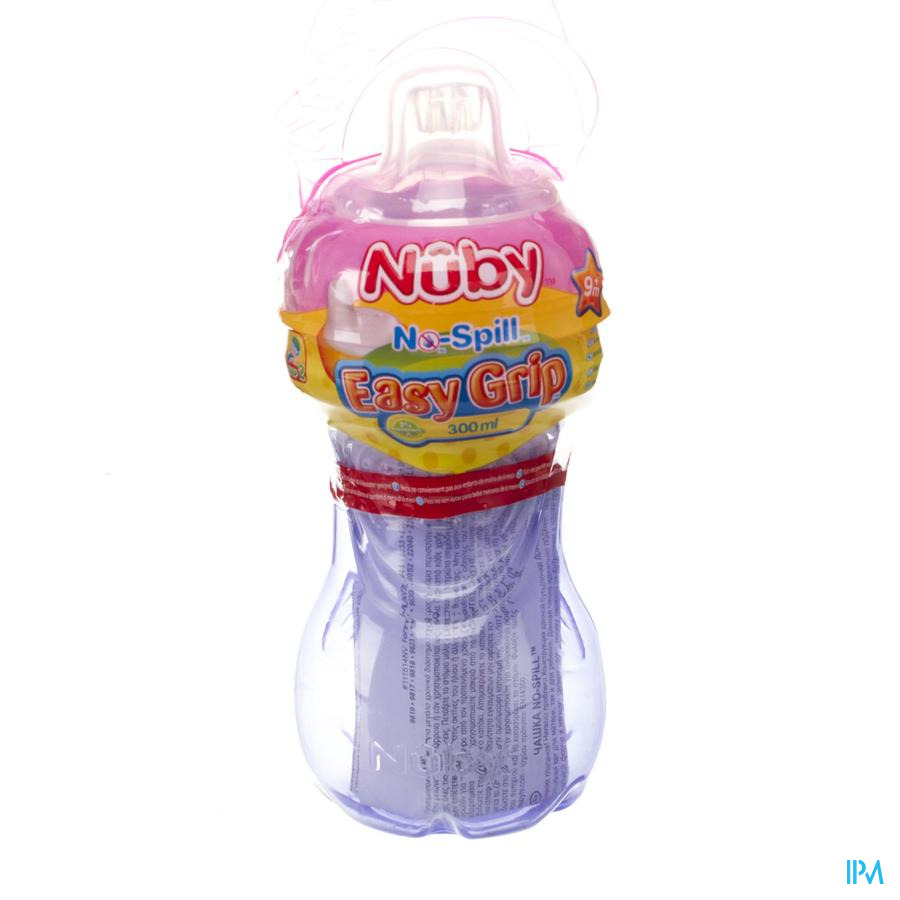 Nûby Easy Grip™ Antilekbeker - 300ml - 6m+