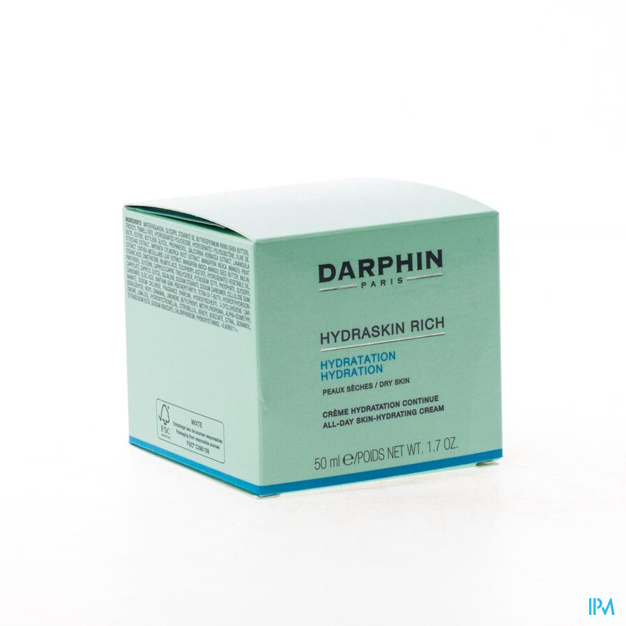 Darphin Hydraskin Creme Riche Pn-ps 50ml D0cn