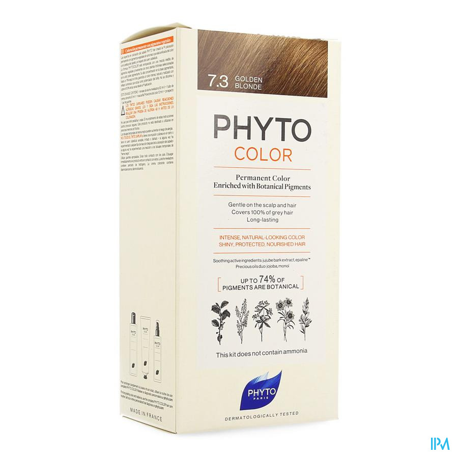 Phytocolor 7.3 Blond Dore
