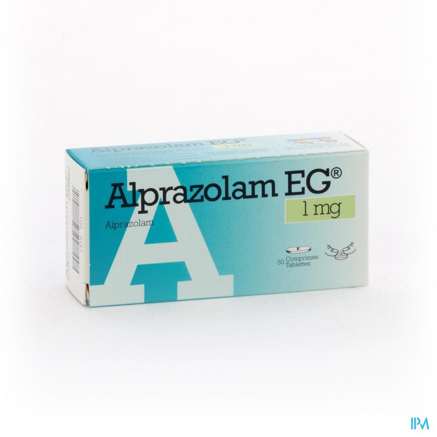 Alprazolam EG Tabletten 50 X 1,00 mg
