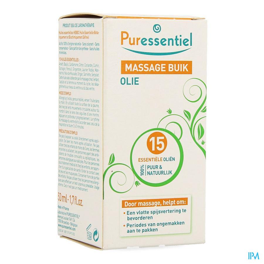 Puressentiel Buikpijn Massage 15 Ess Olie 50ml