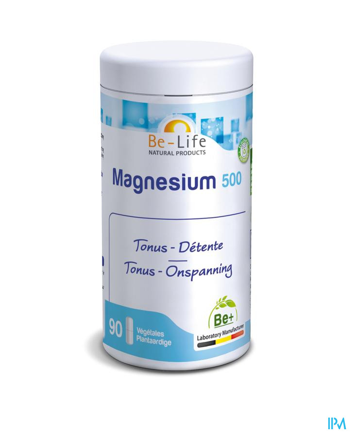 Magnesium 500 Minerals Be Life Nf Gel 90