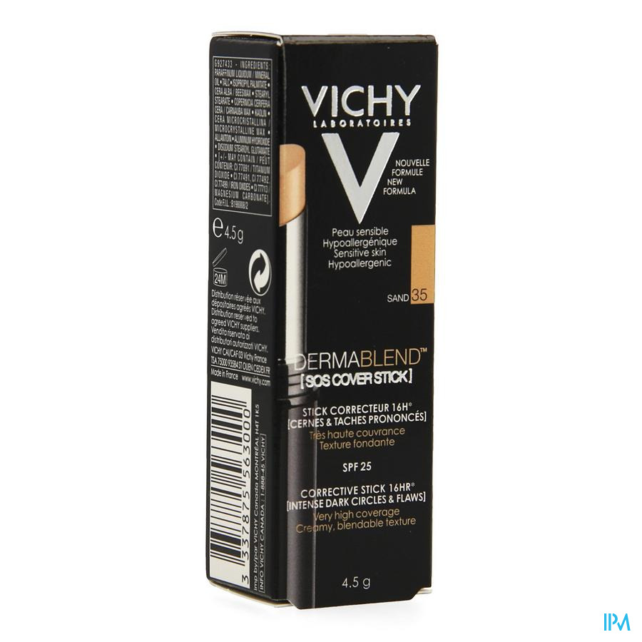 Vichy Fdt Dermablend Sos Cover Stick 35 14u 4,5g
