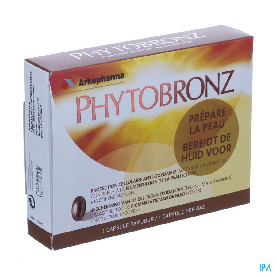 Phytobronz Voorbereider Op De Zon Nf Caps 30
