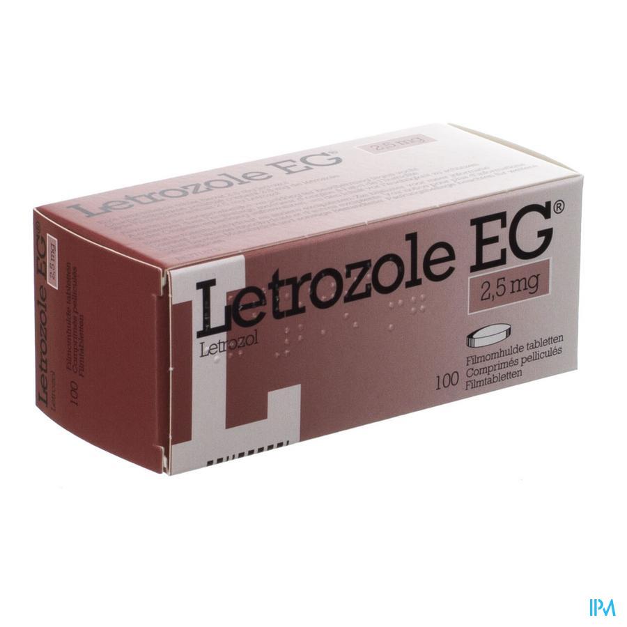 Letrozole Eg 2,5mg Comp 100