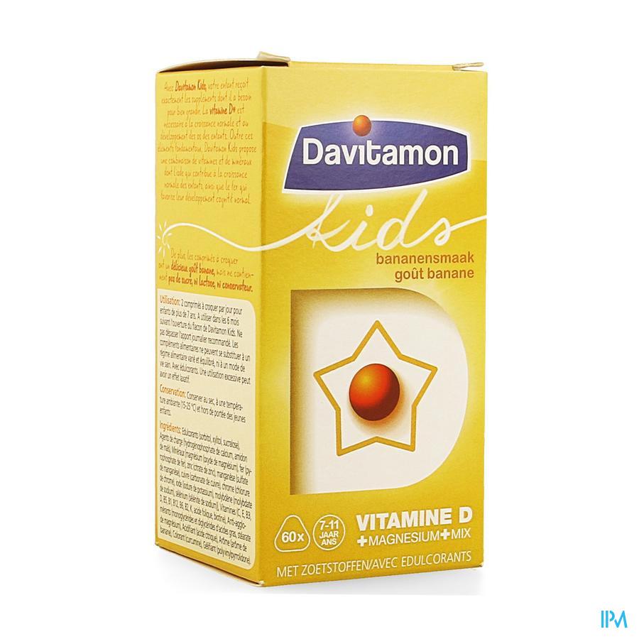 Davitamon Kids Banaan Comp 60 Nf