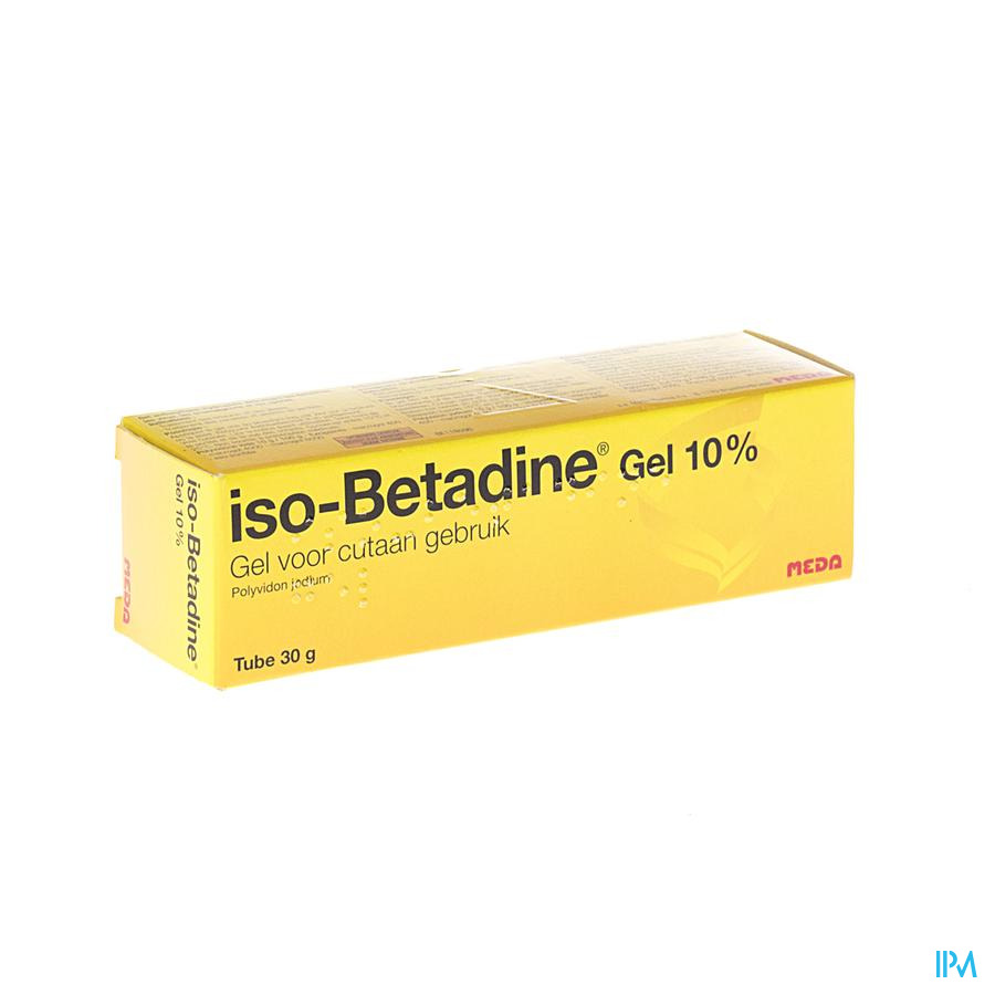 Iso Betadine Gel Tube 30g