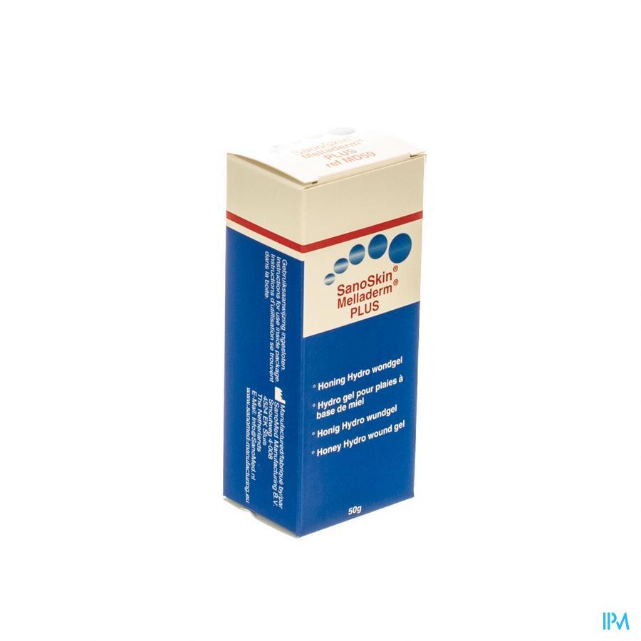 Sanoskin Melladerm Plus Zalf 50g