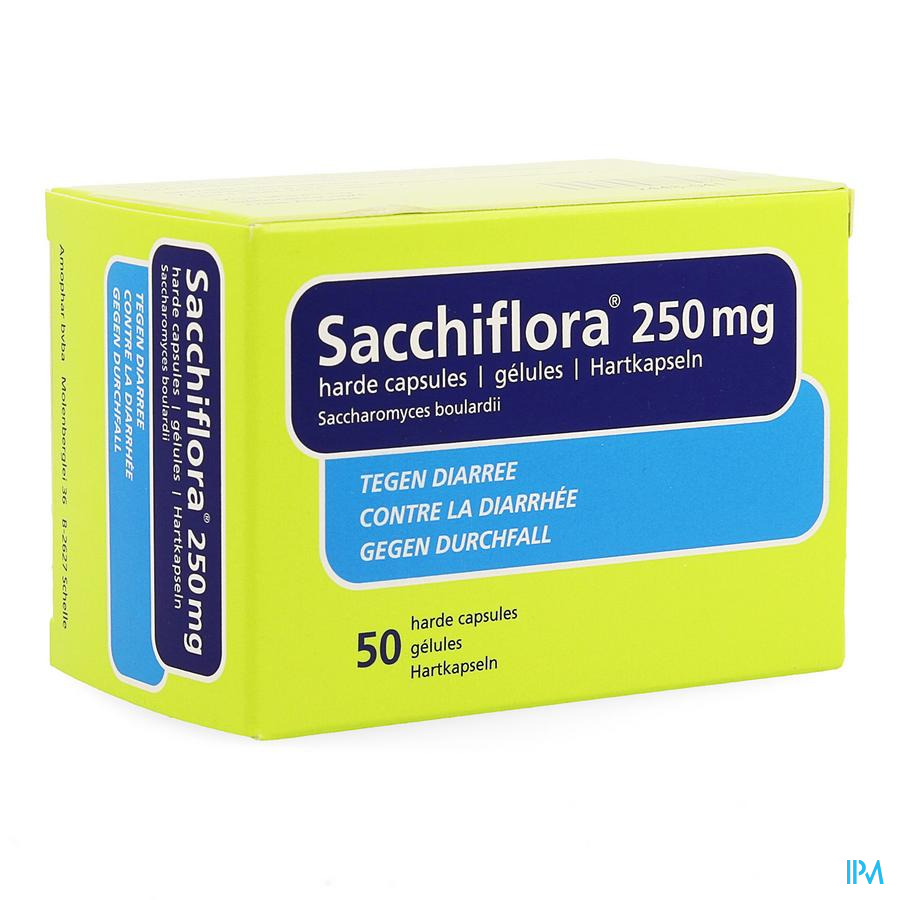 Sacchiflora 250mg Harde Caps 50 Blister