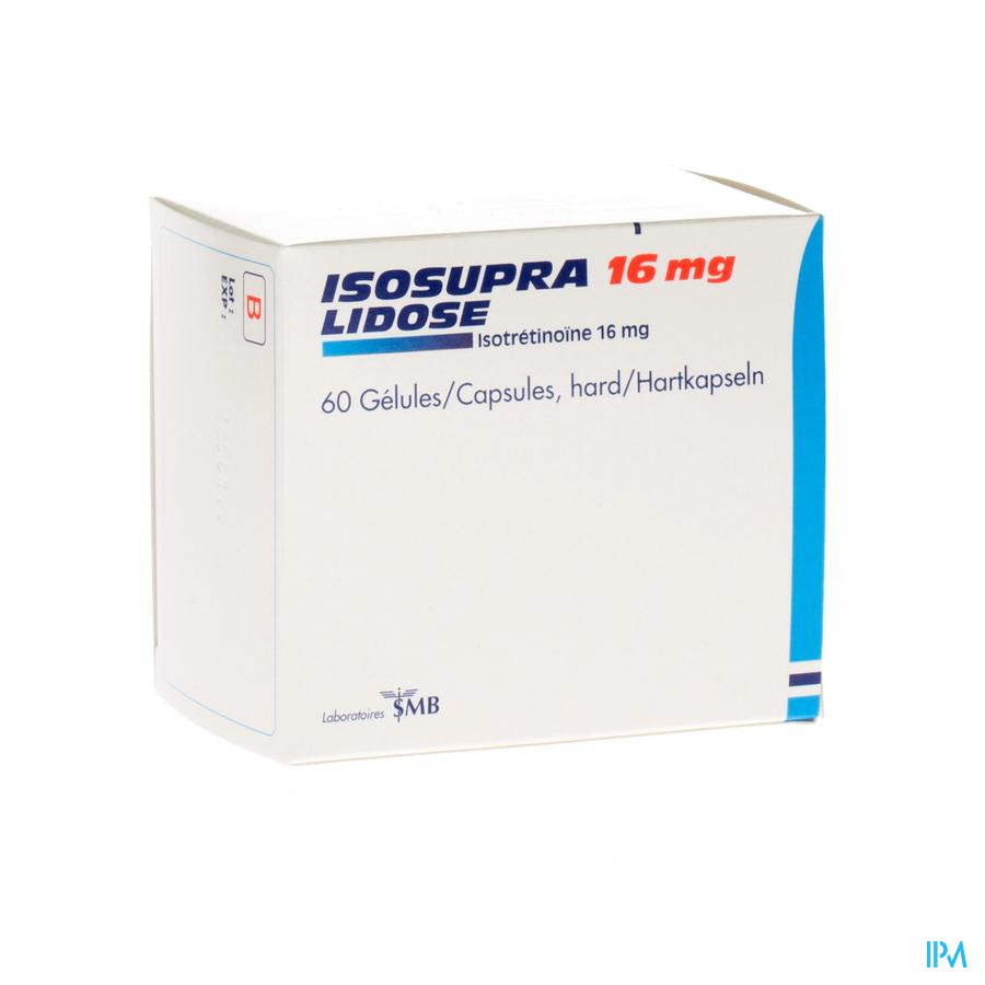 Isosupra Lidose Caps 60 X 16mg