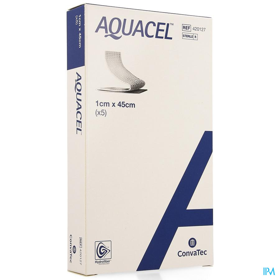 Aquacel Verb Hydrofiber+versterking 1x45cm 5