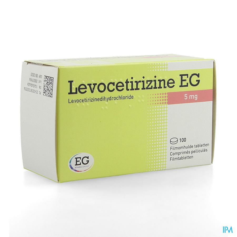 Levocetirizine Eg 5mg Filmomh Tabl 100