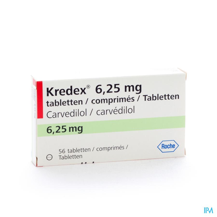 Kredex Comp 56x 6,25mg