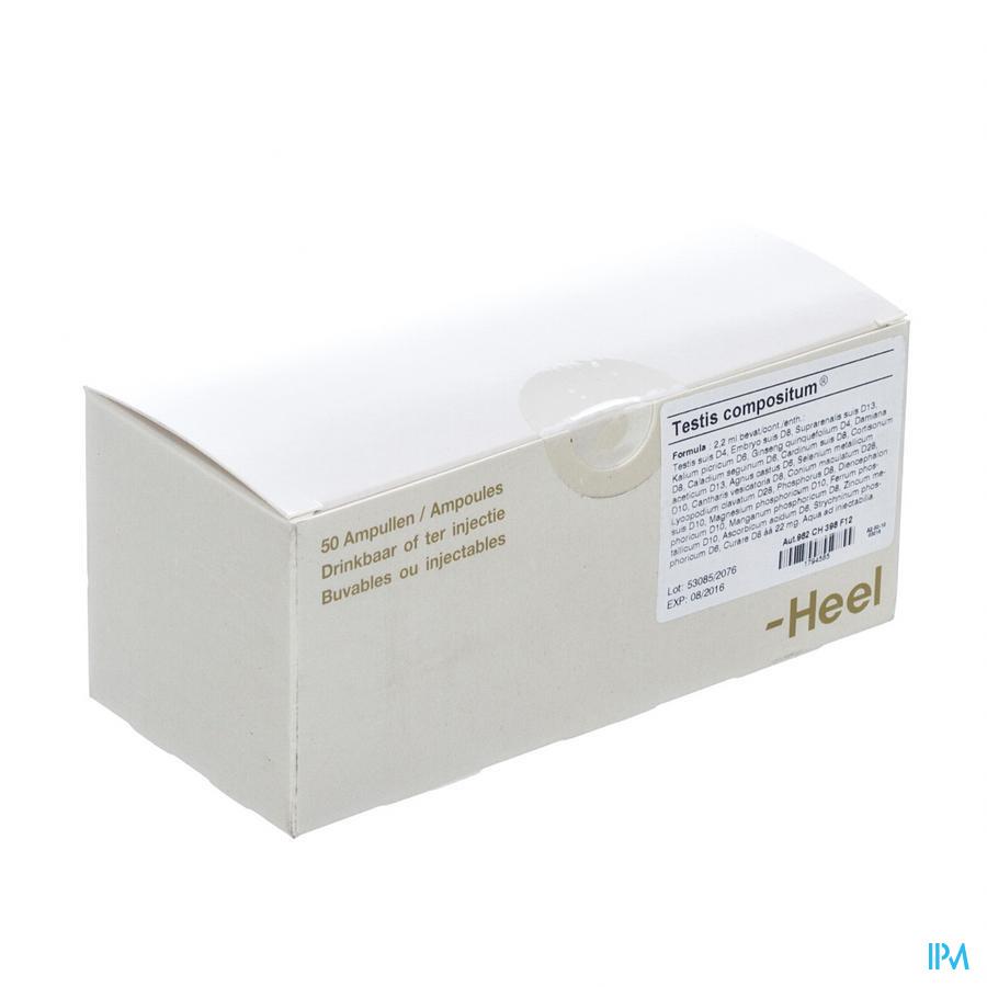 Testis Compositum Ii Ampullen 50x2,2ml Heel