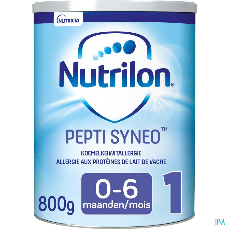 Nutrilon Pepti Syneo 1 poeder 800g Volledige zuigelingenvoeding
