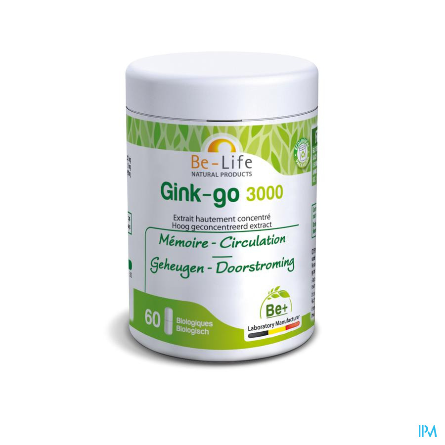 Gink-go 3000 Be Life Capsule 60