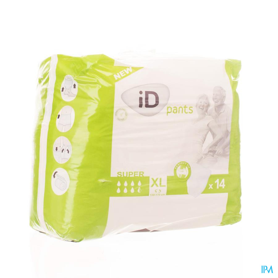 Id Pants Super Xl 14