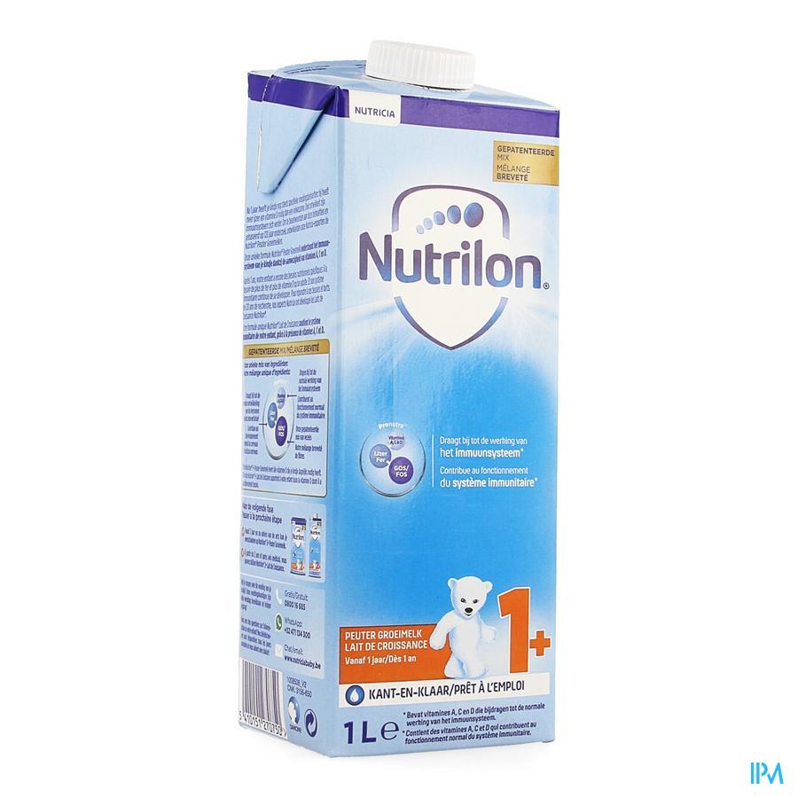 Nutrilon Peuter Groeimelk +1jaar Nf Tetra 1l